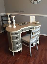 custom standing desk kidney shaped mid. SOLDChic Kidney Shaped DeskVanity By SaundersDesign On Etsy Custom Standing Desk Mid Y