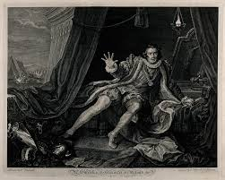 ghostly comings and goings in shakespeare s plays wellcome library david garrick as richard iii print