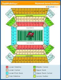 Pirates Stadium Seating Chart Raymond James Stadium Seating Chart Club Level Www