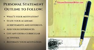 Personal Statement Outline Writing A Perfect Personal Statement For Law School