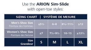 Sim Size Chart Sigvaris Arion Sim Slide