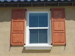 making outdoor window shutters