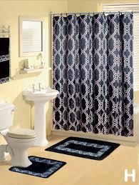 bathroom shower curtains pcs set modern bath mat contour rug hooks hand ralph lauren rugs