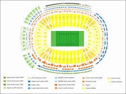 Sanford Stadium Seating Chart 2018 Inspirational La Coliseum Seating Chart Row Numbers