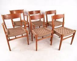 Scandinavian modern furniture Inspiration Image Is Loading Setofsixscandinavianmodernwovendiningchairs Ebay Set Of Six Scandinavian Modern Woven Dining Chairs 7595nj Ebay