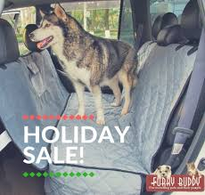 made from plush microfiber material this dog car seat cover by furry buddy is as comfortable as a dog seat cover can get it offers the best experience to