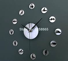 target wall clocks clock art modern contemporary design ideas with pendulum living room r doodle white