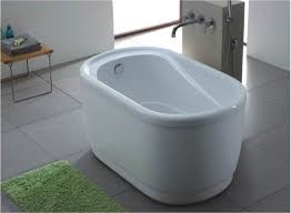 Image Space Saving Very Small Bathtubs Small Bathtub Sizes Small Freestanding Tub Small Bathtub Small Soaker Pinterest Tiny Bathtub Under 4 Long Living Small In 2019 Pinterest