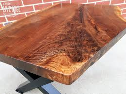 living edge furniture. Live Edge Coffee Table- Black Walnut- X Style Steel Legs- Black- Industrial- Modern- Rustic- Contemporary- Furniture- Handmade- Living Room Furniture