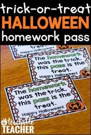 Homework pass and Homework on Pinterest Pinterest Free Halloween Homework Passes are a great way to surprise your students on Halloween  Read
