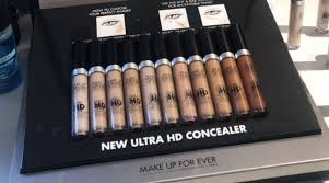 what we know about make up for ever s new ultra hd concealer