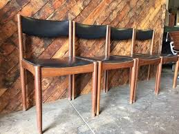 mid century danish teak chairs by thehuntvinela on etsy modern chairsdanish moderndining chairsdining tabledining