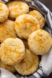 Keto Cheddar Garlic Biscuits Low Carb Red Lobster Biscuit Copycat