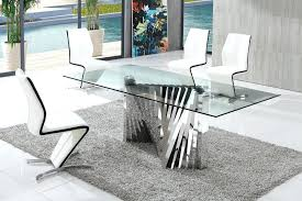 glass dining table sets image of modern glass dining tables glass dining tables and chairs