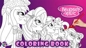 Small Picture Equestria Girls Coloring Page My Little Pony Coloring Book