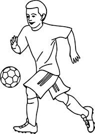Football coloring pages to print. 35 Free Printable Football Or Soccer Coloring Pages