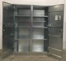 industrial storage cabinet with doors.  Doors FurnitureLocking Storage Cabinet Metal Cupboard Locking  Stainless Steel Cabinets Intended Industrial With Doors