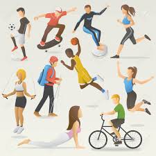 Image result for images: people doing different activities