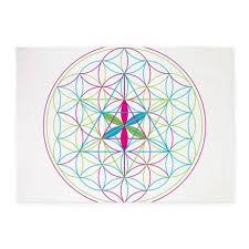 flower of life metatron merkaba 539x739area rug by