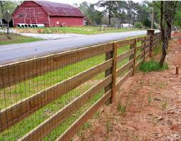 wood rail fence. Simple Fence 4 Rail Board Fence With Welded Wire Attached To Wood Rail Fence