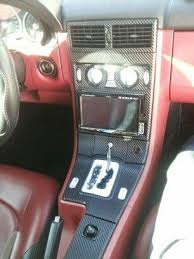 chrysler crossfire custom interior. 04 crossfire with red interior and carbon fiber wrap chrysler pinterest interiors custom d