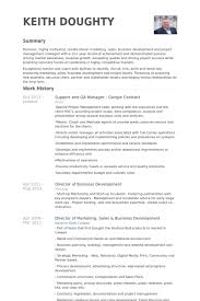 Support And Qa Manager Google Contract Resume samples