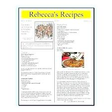 Cookbook Format Template Kids Cookbook Template Book Cover Template For Kids Blank Cookbook