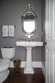 Powder Room Makeover Home Decor Bathroom Grey Bathrooms Studio