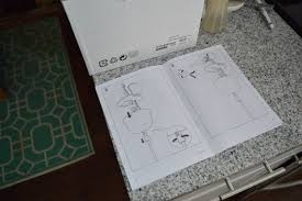 installing ikea pendant light over sink 2