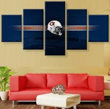 >top 20 auburn wall art wall art ideas auburn tigers canvas prints painting wall art 5 pieces creative regarding auburn wall art