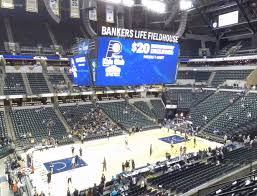 Bankers Life Seating Chart Bankers Life Fieldhouse Section 106 Seat Views Seatgeek