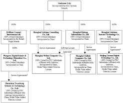 Netcom Org Chart Linktone Ltd