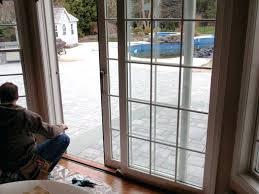 pella sliding door adjustment sliding patio door sticks pella sliding door blind repair