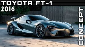 2016 Toyota FT-1 Concept Review Rendered Price Specs Release Date ...