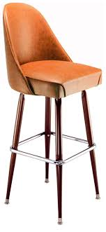 bucket bar stools. Unique Stools Rounded Bucket Bar Stool In Stools 8
