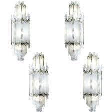 art deco glass chandelier 4 important french art deco glass bronze ballroom chandeliers 1 art deco