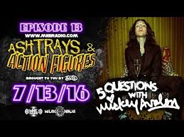 twiztid 5 questions with mickey avalon ashtrays action figures episode 13