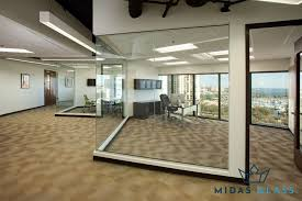 glass partition wall midas glass