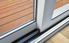 sliding glass door track repair guy in
