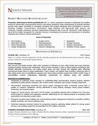 Sample Resume For Finance Executive