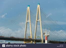 Suspension Bridge Model Design Suspension Bridge Design Plan Stock Photos Suspension