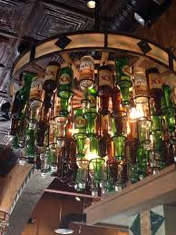 chandelier glass bottle best beer bottle chandelier ideas on beer bottle