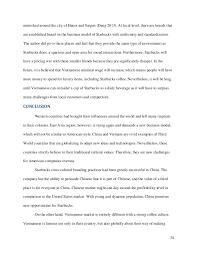 starbucks in and vietnam theory of cross culture branding
