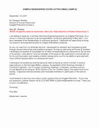 How To Write A Cover Letter Engineering Sample Cover Letters For