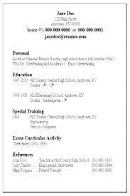 Resume Examples Basic Basic Resume Template Word Format Resume ...