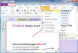 Onenote 2010 Templates Where Is Format In Microsoft Onenote 2010 2013 And 2016