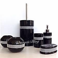 black bathroom accessories. Exellent Black Black Bathroom Accessories Sets For S