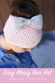 Crochet Bun Hat Free Pattern Cool Messy Bun Free Crochet Pattern Daisy Cottage Designs