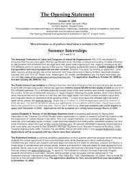Resume Opening Statement Examples 219484 Opening Statement