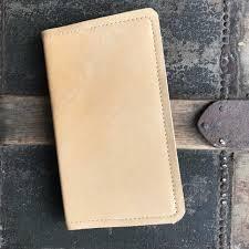 deerskin leather journal small